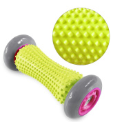 Muscle Roller Stick, HomeYoo Hand and Foot Massager Roller, Trigger Point Massage for Plantar Fasciitis Wrists and Forearms Exercise Roller, Recovery Tool for Plantar Fasciitis