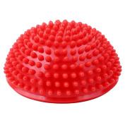 ODN Half Round Foot Massage Ball Yoga Exercise Balance Spiky Massager Ball Fitness Ball Health Care Tool