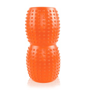 Peanut-shape Yoga Foam Roller for Muscle Massage - 33cm x 13cm For Physical Therapy & Exercise - Ideal for Myofascial Release - Back/Full Body Stiffness Relief