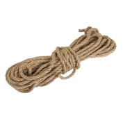 6mm Jute String Twine Twisted Hessian Burlap Hemp Cord Rope for Craft 10M