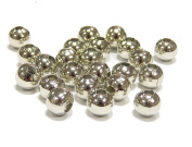 500 Metal Metal Spacer Round Beads Between pieces 2 mm Silver Spacer Beads for Craft Jewellery Chain Bracelet M220