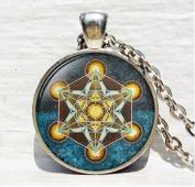 Metatron's Cube pendant, Sacred geometry jewellery,necklace, Jewellery