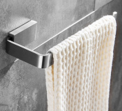 ELLO & ALLO Hand Towel Bar Holder Stainless Steel Bathroom Accessories Towel Ring Wall Mounted Brushed Nickel