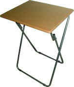 """Folding Table with Premium Quality ideal Dimensions Measuring 19"""" width x 15"""" depth x 26"""" height by Uniqueware"""