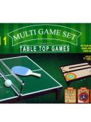 4-in-1 Tabletop Multi-Game Set