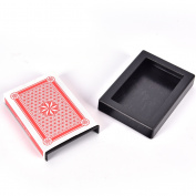Magic Deck Disappearing Vanishing Magic Card Case Close Up Magic Trick Box Fun Poker Vanishing Case