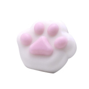 Viahwyt Stress Reliever Toys Cute Cat Paws Cream Scented Squishies Squeeze Slow Rising Decompression Toys Phone Charm Gift