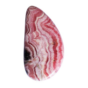 Designer Natural Rhodochrosite Cabochon, Stone For Pendant Jewellery, Size 39x21x3.5 MM AG-9139