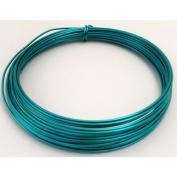 FloristryWarehouse Metallic Aluminium Wire 100g Turquoise By Oasis