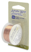 Artistic Craft Wire Non Tarnish Natural Copper Colour 26 Gauge 15 Yards