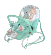 LORELLI BABY BOUNCER Swing Top Relax Green