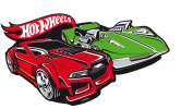 Baby Kids Mattel Hot Wheels 267558 Wall Decoration Wall Decal Embossed Wall Sticker 30 x 25 CM