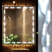 LED Vanity Mirror Lights Kit Ollny Hollywood Style Lighting Fixture Strip for Makeup Vanity Table Set in Dressing Room 3m 60 Led Bulbs