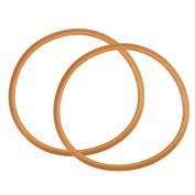 sourcingmap® Pressure Cooker Gasket Sealing Ring Replacement 22cm Inside Dia 2pcs