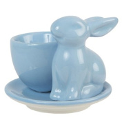 Blue Bunny Egg Cup