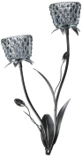 Zingz and Thingz Silver Mist Wall Sconce