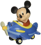 Precious Moments Disney Showcase Collection, Let Your Heart Soar Mickey Mouse, Bisque Porcelain Figurine, 153701