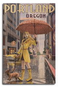 Portland, Oregon - Rain Girl