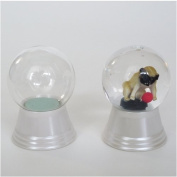 Snow dome do-it-yourself kit glass S size