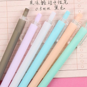 Candy Colour 0.5mm Black Ink Pencils Cute Pen Writing Drawing School Office Stationery Supplies Green