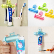 A-goo New Rolling Squeezer Toothpaste Dispenser Tube Partner Sucker Hanging Holder