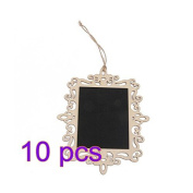 A-goo Hollow lace small blackboard rectangle oval heart