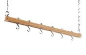 Hahn Ceiling Rack Single Bar Wooden