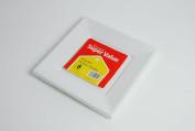 16 White Square Plastic Plates 23cm