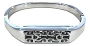 Luxury Band Replacement Bracelet, Metal Wristband, Stylish Bangle for Fitbit Flex 2, (Tracker Not included).