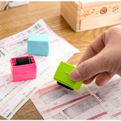 Roller Stamps (Pack of 3) Guard Your ID Mini Roller Stamp Perfect for Privacy Protection