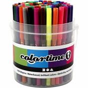 Colortime Marker, 2 mm line, asstd colours, 100asstd