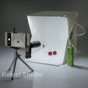 Mini Photography Studio Light Tent Light Room Light Box Kit with LED Light