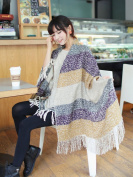 kimberleystore Fashion Blanket Comfortable Warm Oversized Scarf Wrap Shawl Plaid Cosy for Women Lady