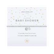 A Little Baby Shower Silver Bracelet by Joma Jewellery