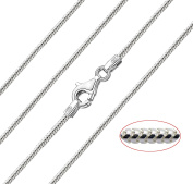 """Chain Company - Thick Italian 925 Sterling Silver 1.8 mm Snake Chain Necklace 16"""" 18"""" 20"""" 22"""" Solid silver"""