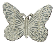 Fine Pewter Butterfly Scarf Ring, Handcast By William Sturt