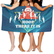Beach Towel Hoop There It Is Basketball Birthday Game Day 200cm X 330cm Soft Lightweight Absorbent For Bath Swimming Pool Yoga Pilates Picnic Blanket Towels