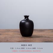 GFEI Ceramic flower _ handmade ceramic flower vase ornaments / small flower Hydroponics,E