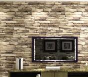 3d Brick Pattern Stonewall Wallpaper, 139.7 x 70.4cm