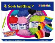Playbox Sock Knitting Craft Set, Multi-Colour