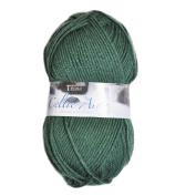 Tivoli Merino Superwash Celtic Aran Wool, Green Colour