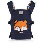 GAGAKU Doll Carrier Front and Back Soft Cotton for Kids Boys Girls over 18 Months - FOX