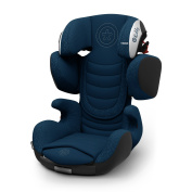 'Kiddy Cruiserfix 2018 Car Seat 7.6cm Mountain Blue Child Car Seat Group 2/3 3 to Approx. 12 Years 15-36 kg