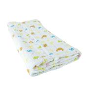 BIG ELEPHANT Colourful Newborn Baby Cotton Blankets Gauze Bath Towel Q05