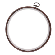 Sharplace Embroidery Hoop Cross Stitch Hoop Embroidery Circle Set Hand Embroidery Hoop 15CM