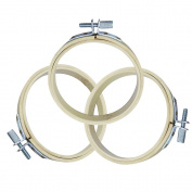 """Embroidery Hoops, . 3pcs Diam.26cm/10.24"""" Round Wooden Embroidery Hoops Set Bulk Wholesale Circle Cross Stitch Hoops"""