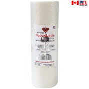 Fusible Mesh Stabiliser 45ml 30cm x 25 Yard Roll. SuperStable Fuse Embroidery Stabiliser Backing