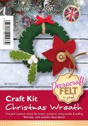 Christmas Wreath Felt Craft Kit
