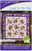 Cosy Quilt Designs Leaf It to Me Pattern