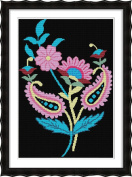 Chreey National Style Series - Simple Pattern for Beginners Cross Stitch Fashion Crafts Home Art Decoration [33x46cm]